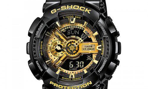 zegarek Casio męski z masywną tarczą