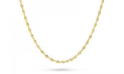 biżuteria złota - łańcuszek